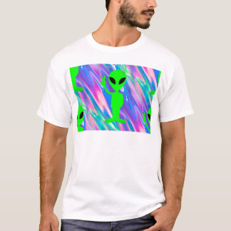 alien hologram T-Shirt