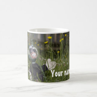 Alien in the sun -- Personalised Coffee Mug