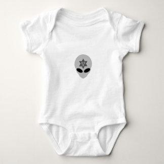 Alien Merkabah Baby Bodysuit