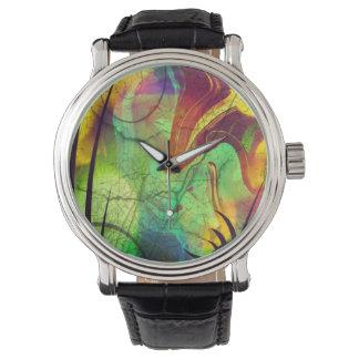Alien Opal Abstract Watch