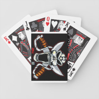Alien Pirate Bicycle Playing Cards