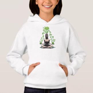 alien yogi Girls' Hanes ComfortBlend® Hoodie