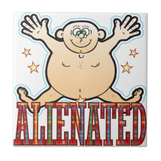 Alienated Fat Man Tile