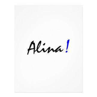 Alina Full Color Flyer