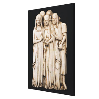 Alinorda, sister of Pope Clement VI Canvas Print