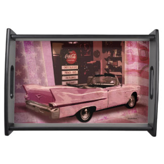 All American 50s Collage Serving Tray