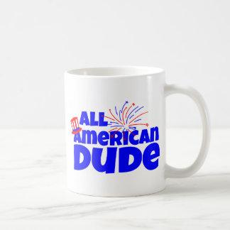 All American Dude Basic White Mug