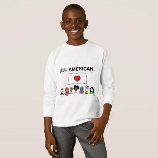 All American Kid's Longsleeve Shirt
