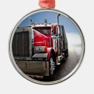All American Trucker Christmas Ornament