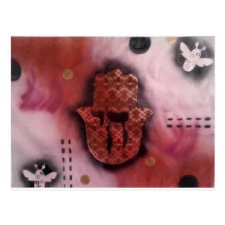 All Chai'd Up - Rose Blush Postcard