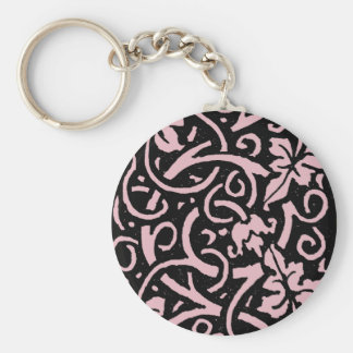 All Good Things Victorian Vine Pattern Key Ring