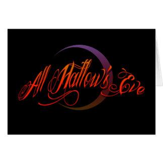 All Hallow's Eve Card