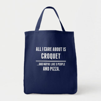 All I Care About Is Croquet Sports Tote Bag