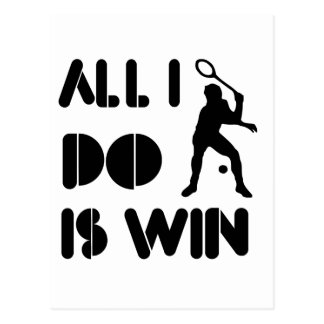 All I Do Is Win At Racquetball Postcard