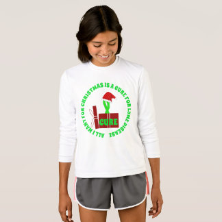 All I want for Christmas is a Cure Lyme Shirt