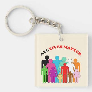 All Lives Matter Key Ring