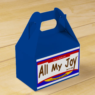 All My Joy Lord Favor Boxes Wedding Favour Boxes
