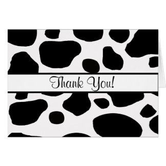 All Ocassion Thank You Note Greeting Card