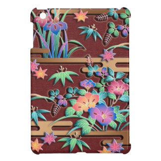 All seasons flowers iPad mini cases