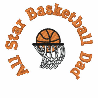 All Star Basketball Dad Polo