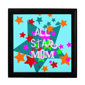 All Star Mom Ceramic Tile Gift Box Mothers Day