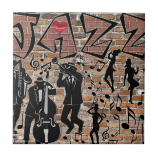ALL THAT JAZZ SMALL SQUARE TILE