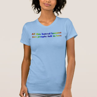 All This Hatred (dark) Tee Shirts