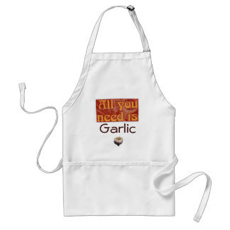 all you need is., Garlic Standard Apron