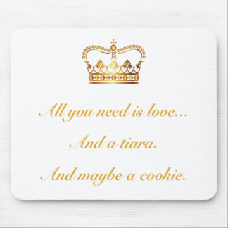 All you need is love mouse pad