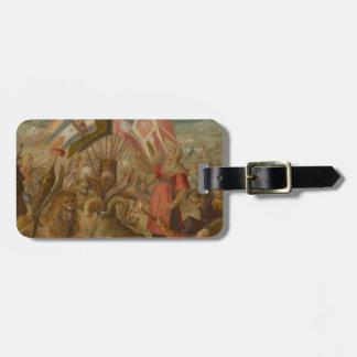 Allegorie on the battle of BraÅŸov Hans von Aachen Luggage Tag