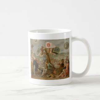 Allegorie on the battle of Gurăslău by Hans Coffee Mug