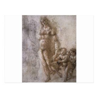 Allegory of Abundance by Sandro Botticelli Postcard