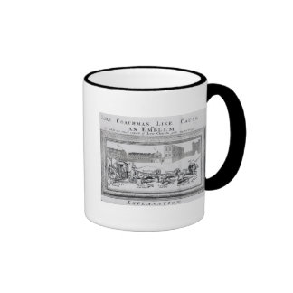 Allegory of the Dangers of Low Church Coffee Mug