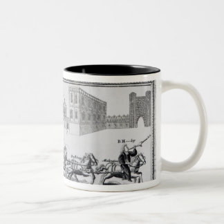 Allegory of the Dangers of Low Church Two-Tone Mug