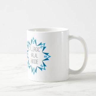 Allergic Halal Foodie logo Coffee Mug