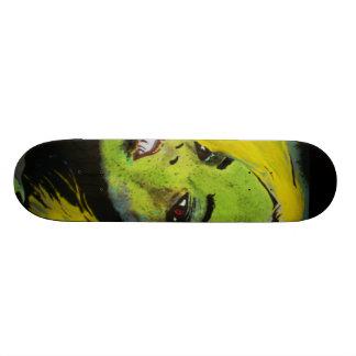 'Alligator Girl of Cypress Swamp' Skateboard