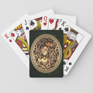 Allison Steampunk Playing Cards