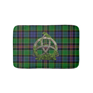 Allison Tartan And Celtic Trinity Knot Bath Mat