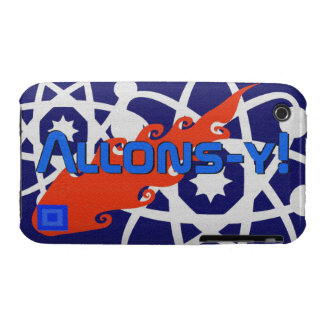 Allons-y! Adventures in Space... iPhone 3 Case-Mate Cases