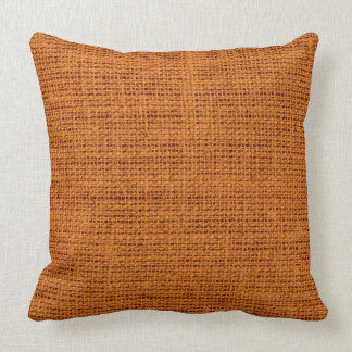 Alloy orange burlap linen background cushions