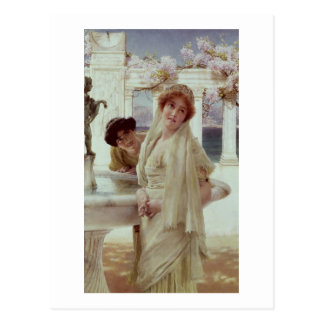Alma-Tadema | A Difference of Opinion Postcard