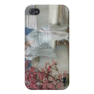 Alma-Tadema | Her eyes are with her thoughts� Case For iPhone 4