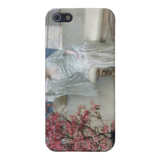 Alma-Tadema | Her eyes are with her thoughts� Cover For iPhone 5/5S
