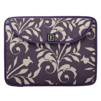 Almond Rose Swirl MacBook Pro Sleeves
