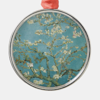 Almond tree in blossom by Vincent Van Gogh Christmas Ornament