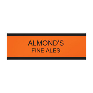 Almond's Fine Ales Canvas