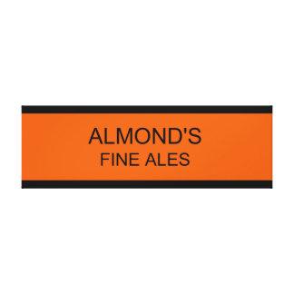 Almond's Fine Ales Canvas Canvas Prints