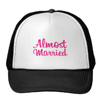 Almost Married shirt for Him Cap