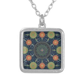 Aloe Vera Mandala Array Necklace