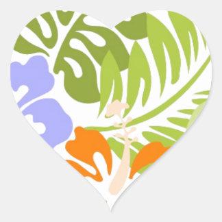 Aloha from Hawaii Heart Sticker